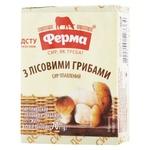Сир плавлений Ферма з лісовими грибами 55% 70г