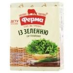 Сир плавлений Ферма із зеленню 55% 70г