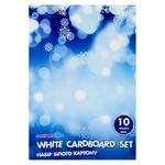 Набор белого картона Cool For School 10 листов