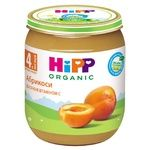 Baby puree HiPP Apricots for 4+ month old babies 125g