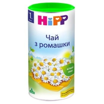 HiPP Baby Herbal Tea with Chamomile for 1+ week babies 200g - buy, prices for CityMarket - photo 1
