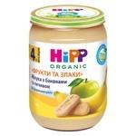 Пюре HiPP Фрукти та злаки яблука з бананами та печивом з 4-х місяців 190г