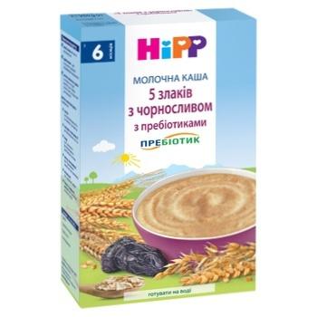 Каша Hipp молочная чернослив 250г