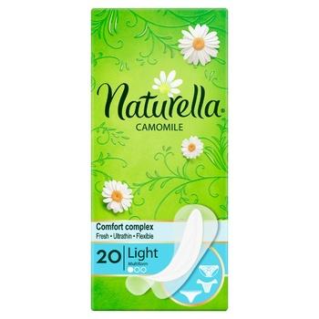 Ежедневные прокладки Naturella Camomile Light Multiform 20шт