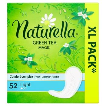 Ежедневные прокладки Naturella Green Tea Magic Light 52шт