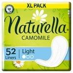 Прокладки ежедневные Naturella Camomile Light 52шт