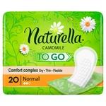 Прокладки Naturella Camomile Plus ежедневные гигиинические 20шт