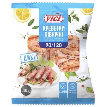 Vici frozen shrimp 90/120 500g - buy, prices for MegaMarket - photo 1
