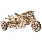 Ugears Motorcycle Scrambler Model 3D Mechanical