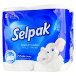 Selpak Toilet Paper Ultra Comfort 8pcs
