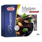 Vici Boiled-frozen Mussels in Shells in Wine Sauce 500g