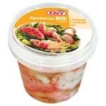 Vici Mini Shrimps with Surimi in Oil with Spices in Garlic Oil 340g