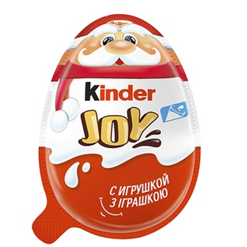 Kinder Joy Classic  With Two-Layer Milk And Cocoa Paste And Wafer Balls Covered With Cocoa Filled With Milk Cream And With Toy Inside Egg 20g - buy, prices for CityMarket - photo 3