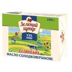 Zeleniy hutir Peasant Sweet cream Butter 73% 200g