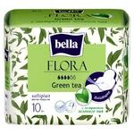 Bella Flora Green Tea Sanitary Pads 10pcs