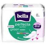 Bella Perfecta Ultra Maxi Green Hugienical Pads 8pcs