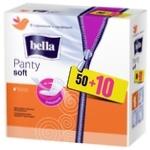 Прокладки щоденні Bella Panty Soft гігієнічні дихаючі 1 крапелька 60шт