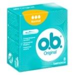 Тампони жіночі гігієнічні o.b.® Original Normal 8шт