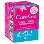 Супертонкі щоденні прокладки Carefree® Дотик бавовни в iндивідуальних упаковках 20шт