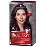 Интенсивная крем-краска для волос Brillance 888 Тёмная вишня 160мл