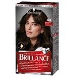 Інтенсивна крем-фарба для волосся Brillance 883 Елегантний темно-каштановий 160мл