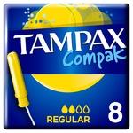 Tampax Compak Regular Tampons 8pcs