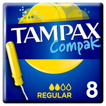 Тампоны Tampax Compak Regular 8шт
