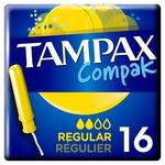Tampax Compak Regular Tampons 16pcs