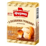 Ferma Processed Cheese with Forest Mushrooms 55% 90g