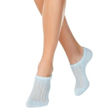 Conte Elegant Active Pale Turquoise Women's Ultrashort Socks Size 25 - buy, prices for Novus - photo 1