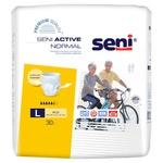 Трусы впитывающие для взрослых Seni Active Normal L 30шт