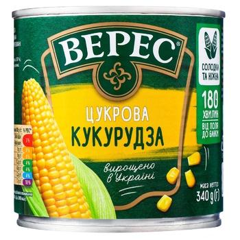Кукурудза Верес цукрова 340г