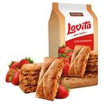 Печиво Roshen Lovita Cake Cookies Полуниця 168г