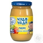Chudo-Chado peach-apple puree for children from 4 months170g