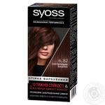 Крем-краска для волос SYOSS с технологией Salonplex 4-82 Пурпурный каштан