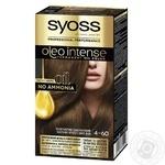 Фарба для волосся Syoss Oleo Intense без аміаку золотистий каштановий 4-60 - купити, ціни на Novus - фото 4