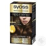 Краска для волос без аммиака SYOSS Oleo Intense с маслом Арганы 3-86 Шоколадный Мокко 115мл