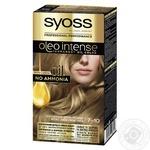Краска для волос SYOSS Oleo Intense 7-10 Натуральный светло-русый без аммиака 115мл