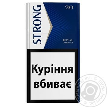Strong Royal Compact Cigarillos - buy, prices for EKO Market - photo 2