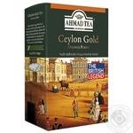 Чай черный Ахмад Цейлон Оранж Пеко Голд 200г