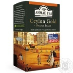 Чай чорний Ахмад Цейлон Оранж Пеко Голд 100г