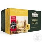 Чай черный Ахмад Английский №1 пакетированный 40х2г