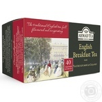 Чай черный Ахмад Английский к завтраку пакетированный 40х2г