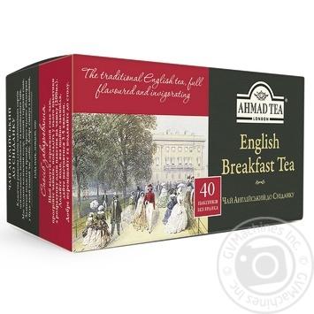 Ahmad Tea English Breakfast Black Tea in tea bags 40х2g - buy, prices for Novus - image 1