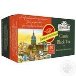 Чай Классический черный Ахмад пакетированный 40х2г - купить, цены на Фуршет - фото 1