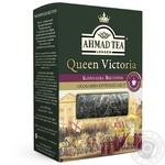 Чай черный крупнолистовой с легким ароматом бергамота Ахмад Королева Виктория 50г