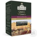 Чай черный крупнолистовой с легким ароматом бергамота Ахмад Королева Виктория 180г