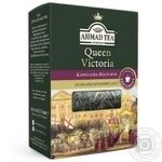 Чай черный крупнолистовой с легким ароматом бергамота Ахмад Королева Виктория 100г