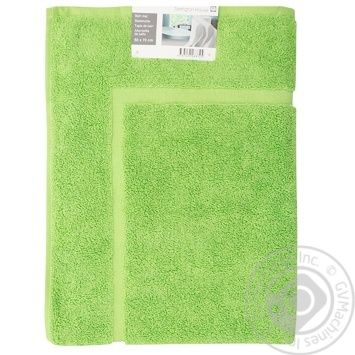Коврик для ванной Tarrington House зеленый 50Х70см