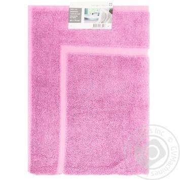 Коврик для ванной Tarrington House пурпурный 50X70см